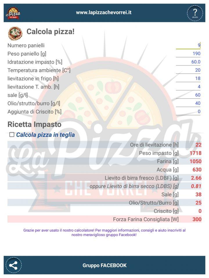 Farina Garofalo W350 Ricetta Pizza.Impasto A Mano Idro 60 Farina Garofalo W350 Food Experiments